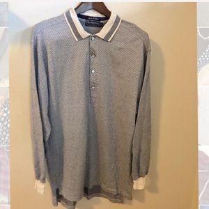 Burberry || Men's Half Button Casual Shirt